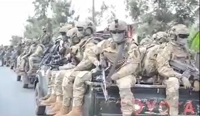 Goma : Une nouvelle unité d'intervention des Fardc en action (vidéo)