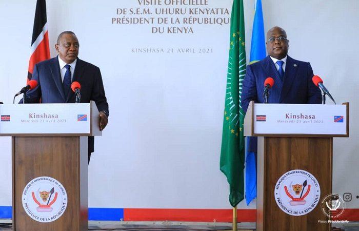 La Rdc et le Kenya scellent un mariage d'intérêts à Kinshasa