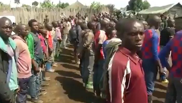 Etat de siège : Reddition d'une centaine de rebelles avec armes et munitions à Kichanga/Nord-Kivu (Vidéo)