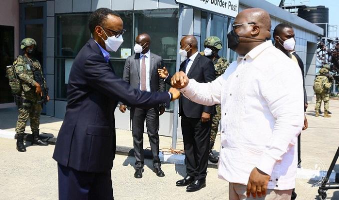 La Rdc scelle avec le Rwanda une idylle sur le chemin de l'Afrique de l'Est