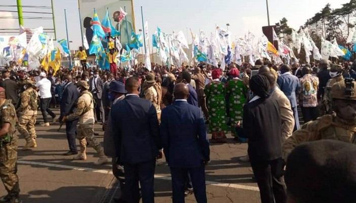 RDC : Félix Tshisekedi dans la fournaise de l'Est sous très haute sécurité