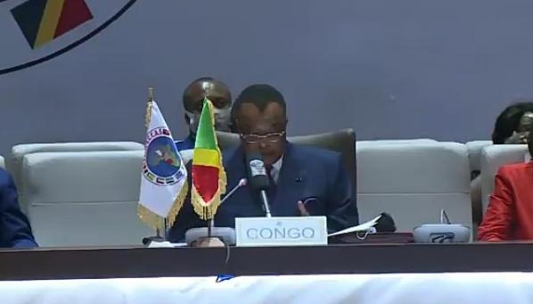 CEEAC : Sassou N'Guesso dénonce la déstabilisation du Sahel suite à l'instabilité libyenne (Vidéo)