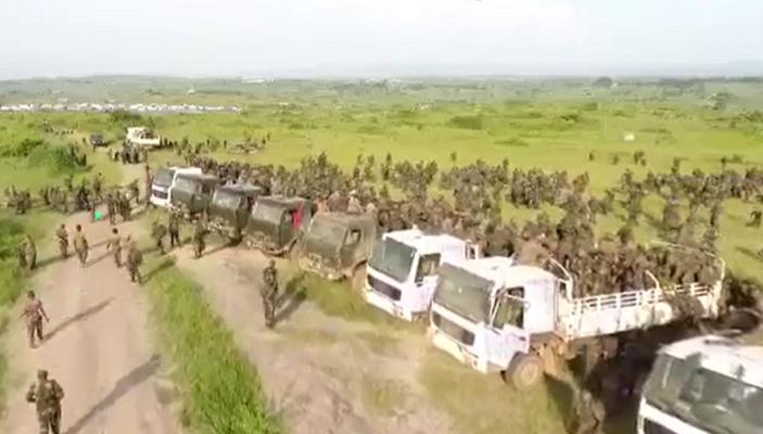 Etat de siège : Les FARDC détruisent 5 bastions des ADF en Ituri (vidéo)