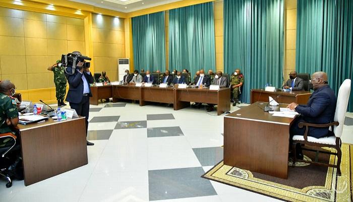 RDC : Deux importantes réunions de sécurité se sont tenues au Palais de la Nation