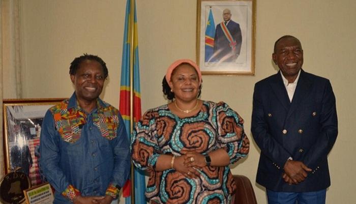 Pourquoi Souzy Kaseya et Lokwa Kanza étaient chez Catherine Kathungu Furaha de la Culture, Arts et Patrimoines ?
