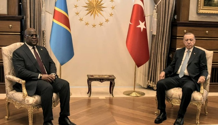 Rdc-Turquie : La sécurité au centre d'intérêt de deux Chefs d'État