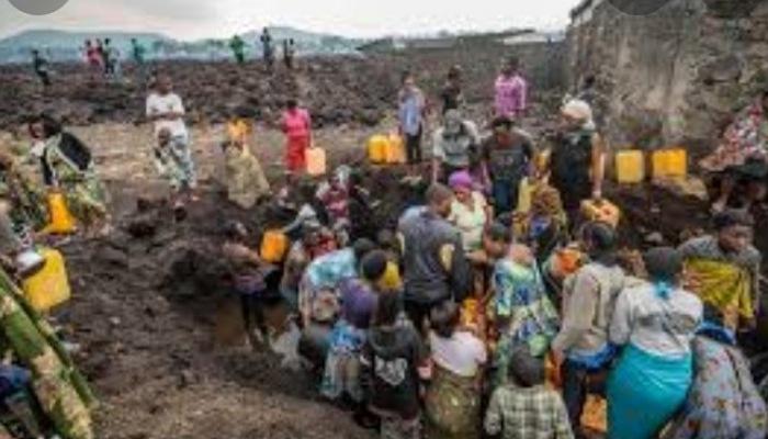 RDC : Les pleurs des victimes du mont Nyiragongo cinq mois après
