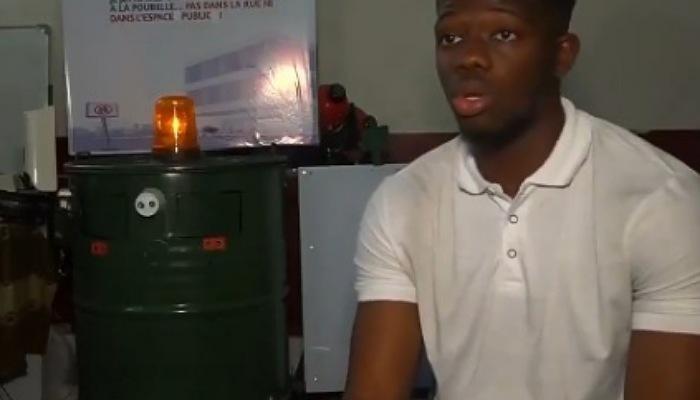 Environnement : Des étudiants congolais créent une poubelle intelligente (Vidéo)